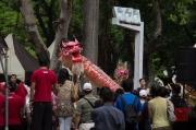 Taiwan 2012 - Taipei - Lin-Namens-Fest - Drachentanz