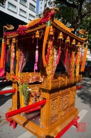 Taiwan 2012 - Taipei - Lin-Namens-Fest - Göttersänfte