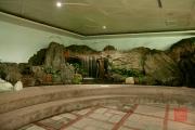 Taiwan 2012 - Taipei - Longshan Metro Station - Brunnen