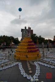 Taiwan 2012 - Taipei - Longshan Tempel - Tempelfest - Sternzeichenskulptur I