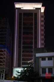 Taiwan 2012 - Taipei - Bangiao - Hausbeleuchtung - Herzen