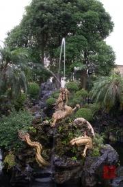 Taiwan 2012 - Taipei - Longshan Tempel - Drachenbrunnen