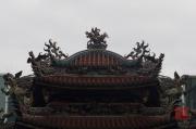 Taiwan 2012 - Taipei - Longshan Tempel - Dach