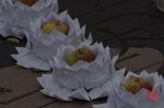 Taiwan 2012 - Taipei - Longshan Tempel - Lotusecke III