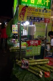 Taiwan 2012 - Taipei - Shilin Nachtmarkt - Zuckerrohrsaft