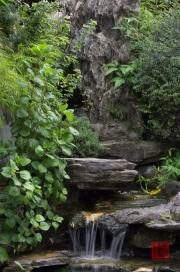 Taiwan 2012 - Taipei - Wasserfall