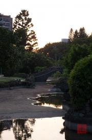 Taiwan 2012 - Taipei - Shuangxi Park and Chinese Garden - Brücke