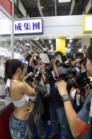 Taipei Photo Exhibition 2012 - Model & Fotografenmeute