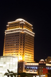 Taiwan 2012 - Taipei - Xinyi by Night - Impressionen VI