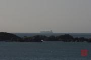 Taiwan 2012 - Taipei - Baishawan - Containerschiff