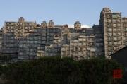 Taiwan 2012 - Taipei - Baishawan - Hochhaus