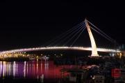 Taiwan 2012 - Taipei - Tamsui - Fishermans Wharf - Bridge White