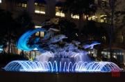 Taiwan 2012 - Taipei - Tamsui - Fishermans Wharf - Brunnen