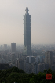 Taiwan 2012 - Taipei - Elephant Mountain - Taipeh 101 Centered