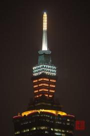 Taiwan 2012 - Taipei - Elephant Mountain - Taipeh 101 - Top