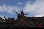 Taiwan 2012 - Taipei - Dalongdong Baoan Tempel - Dach