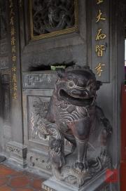 Taiwan 2012 - Taipei - Dalongdong Baoan Tempel - Löwe