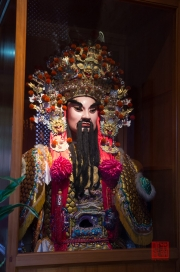 Taiwan 2012 - Taipei - Dalongdong Baoan Tempel - Zeremonien-Maske I