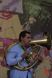 Bardentreffen 2013 - Mahala Rai Banda - Christinel Cantea