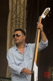 Bardentreffen 2013 - Mahala Rai Banda - Bass Vios