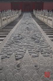 Beijing 2013 - Forbidden City - Stair relief II