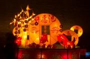 Pingyao 2013 - Money Lantern Waggon