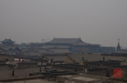 Pingyao 2013 - Tall Building within close-up