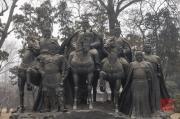 Jinci Temple 2013 - Heroes sculpture