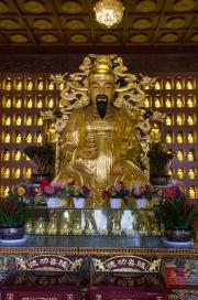 Xian 2013 - Giant Wild Goose Pagoda - Wealth Buddha sculpture