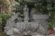 Xian 2013 - Giant Wild Goose Pagoda - Stone sculpture I