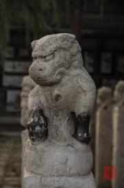 Xian 2013 - Stele Forest - Lion Stele