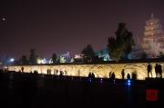 Xian 2013 - Giant Wild Goose Pagoda & Wallrelief by Night