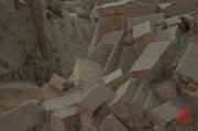 Xian 2013 - Terracotta Army - Brick excavation