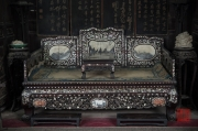 Xian 2013 - Moslem Quarter - Mosque - Pearlstone Chair