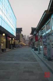 Xian 2013 - Shopping Mall - Side Street