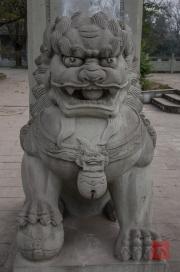 Dazu 2013 - Lion sculpture