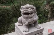 Baodingshan 2013 - Lion sculpture