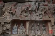 Baodingshan 2013 - Vidyarajas & Daoist figures