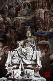 Baodingshan 2013 - Grotto of Complete Enlightenment - Bodhisattva II