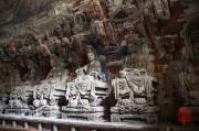 Baodingshan 2013 - Grotto of Complete Enlightenment - Bodhisattvas right side