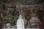 Baodingshan 2013 - Grotto of Complete Enlightenment - Vairocana triad