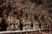 Baodingshan 2013 - Grotto of Complete Enlightenment - Bodhisattvas left side