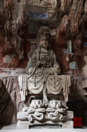 Baodingshan 2013 - Grotto of Complete Enlightenment - Bodhisattva III