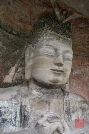 Baodingshan 2013 - Bust of Vairocana II