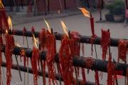 Baodingshan 2013 - Temple - Candles