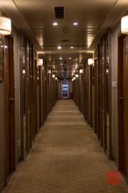 Chongqing 2013 - Cruise ship - Corridor