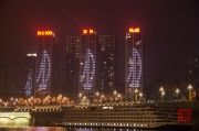 Chongqing 2013 - Harbour - Apartment Tower Ship LED