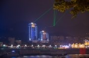 Chongqing 2013 - Harbour - Laser Show