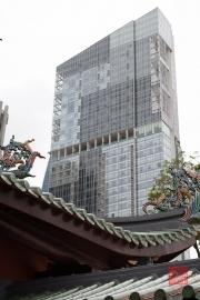 Singapore 2013 - Thian Hock Keng Temple - Temple & Skyscraper