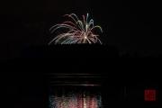 Nuremberg Spring Fireworks - Red & Blue & Gold